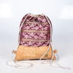Praktischer und eleganter Begleiter in Pink/Natur für viele Festivitäten Vorderansicht